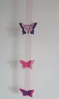Dekopaket Schmetterlingsfeier