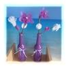 Tischdekopaket lila Natur